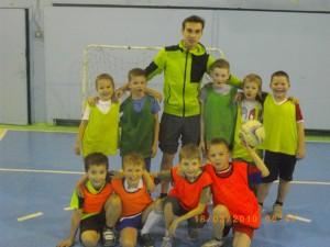 Тренировки ребят 2008-2009 г.р филиал «Дзержинский»